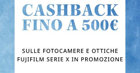 promozione fujifilm serie X fotocamere mirrorless solodigitali roma