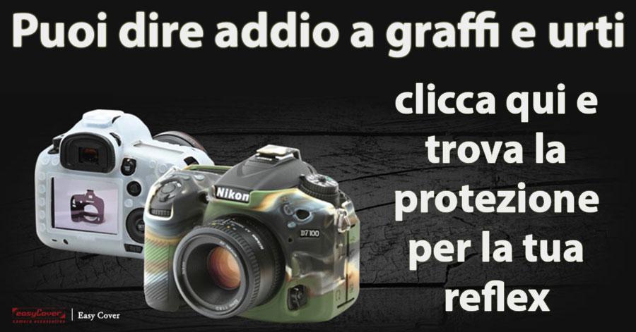 easycover protezioni paraurti armor custodie schermo reflex obiettivi
