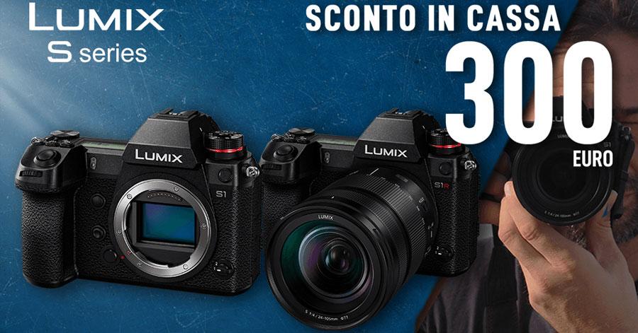 promozione Panasonic Lumix S obiettivi fotocamere solodigitali roma